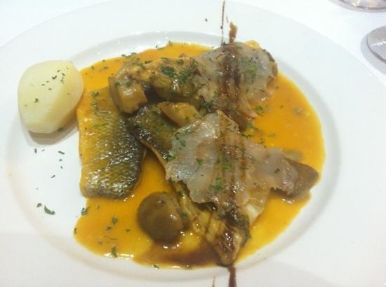 Cho Zacarías Restaurante : lubina