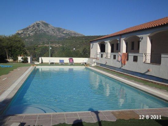 La Valle del Cedrino: piscina