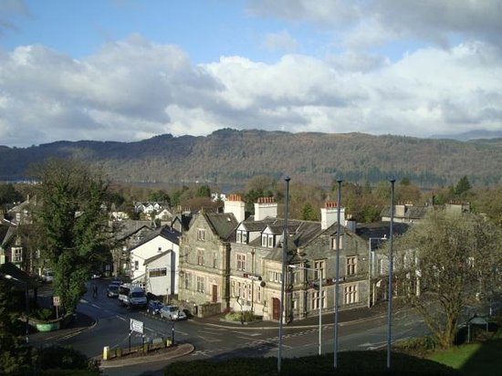 The Windermere Hotel: View from 1st floor