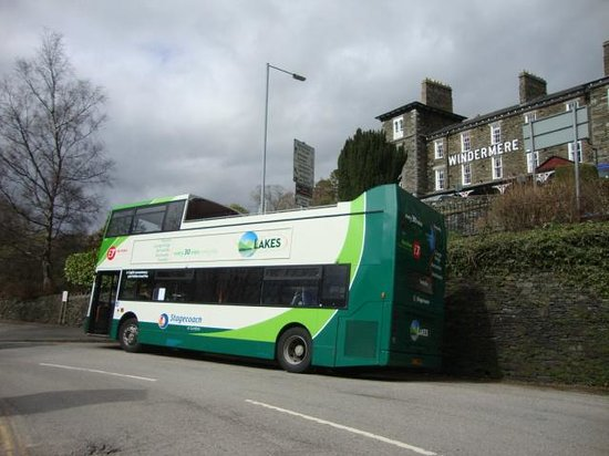 The Windermere Hotel: Transport to hand!