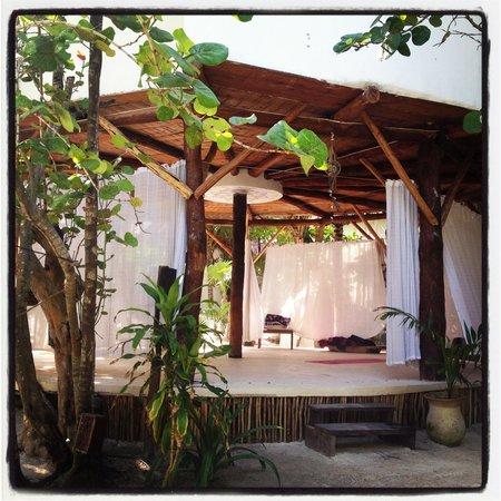 Casa Violeta: Yoga studio