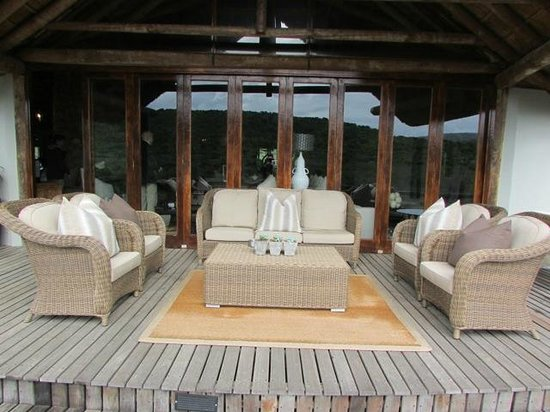 Kwandwe Great Fish River Lodge: Public areas