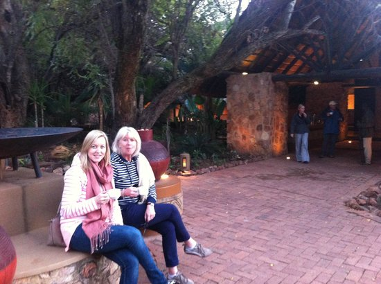 Mabula Game Lodge: Front reception