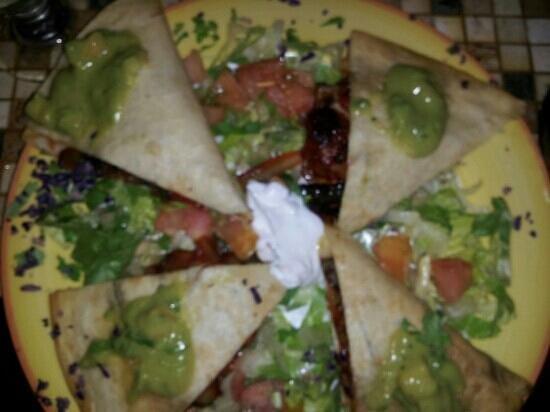 Tijuana's : Veggie quesadilla from T'Juanas-San Juan, Puerto Rico