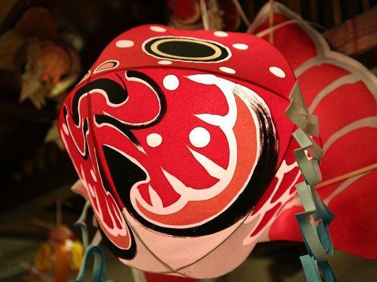 Tsugaruhan Neputa Mura: lantern