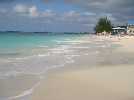 Cayman Reef Resort: Walk to Royal Palms for water toys, bar & food.