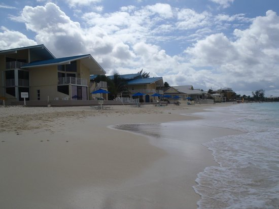 Cayman Reef Resort: CRR  as you return from a walk to the north.