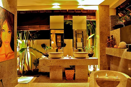 The Zala Villa Bali: this was our bath room  - just perfect