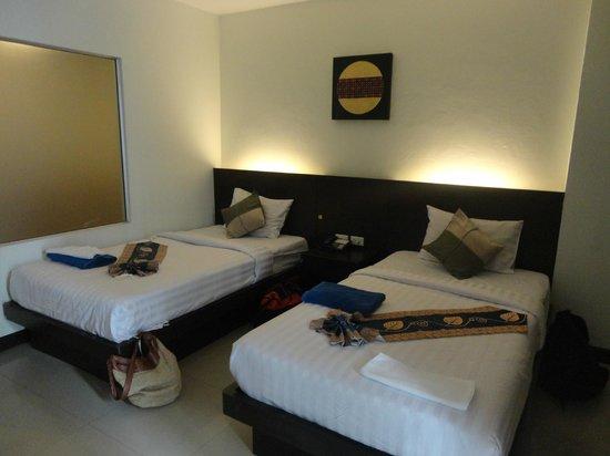 Garden Phuket Hotel: nuestra habitación doble