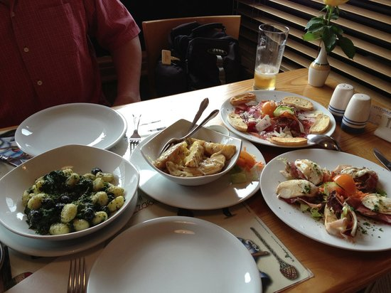 Vecchia Milano: really tasty appetizers