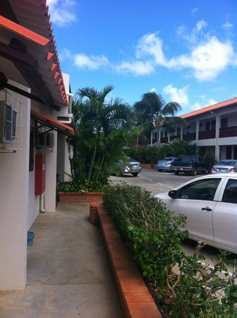 Aruba Quality Apartments & Suites: view from the door