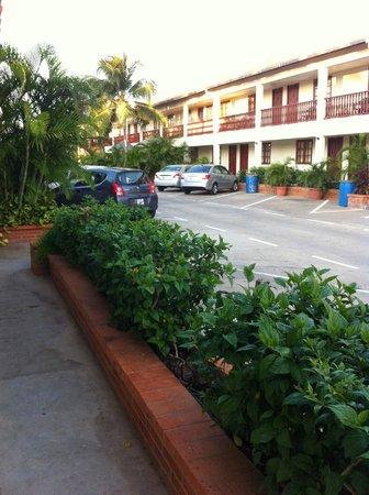 Aruba Quality Apartments & Suites: yard