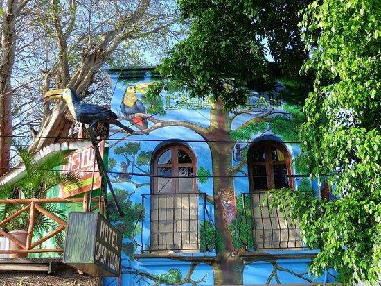 Hotel Casa Tucan: L'hotel vu de la rue