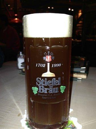 Zum Stiefel: bière maison