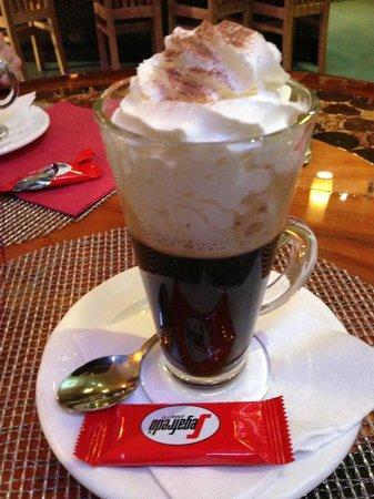 Bem Brasil, Deansgate: Very good Irish coffee