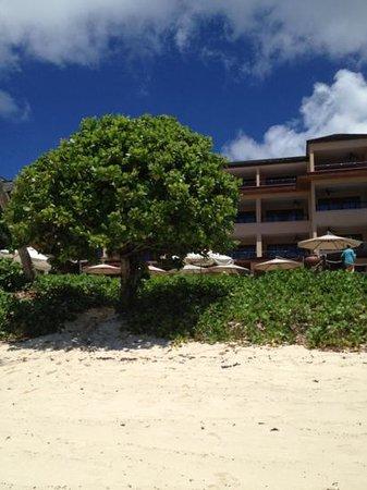 DoubleTree by Hilton Seychelles Allamanda Resort & Spa : plage