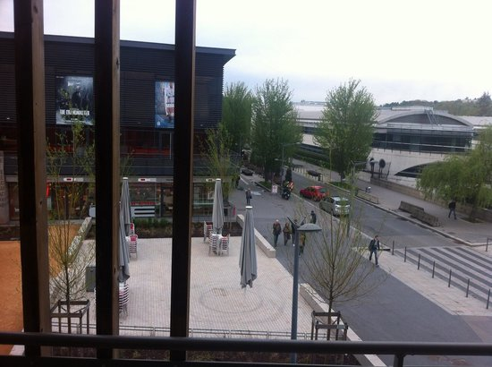 Dock Ouest : Vue