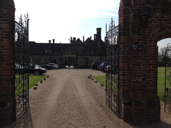 Eastwell Manor entrance
