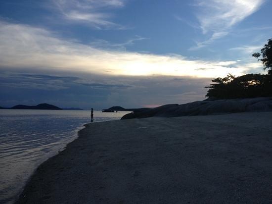 Kamalaya Koh Samui: kamalaya beach
