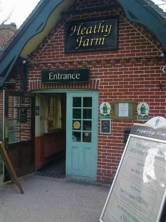 Heathy Farm: The entrance of the Healthy Farm