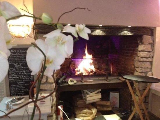 Le Bistrô Pizzeria : Cuisson cheminée ( selon le vent )