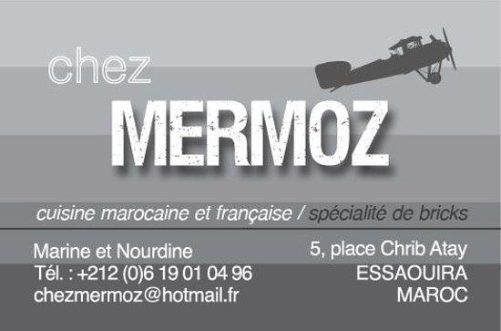 Chez Mermoz : Coordonnées