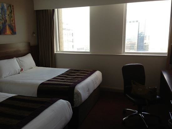 Jurys Inn Birmingham: Room on 16th floor