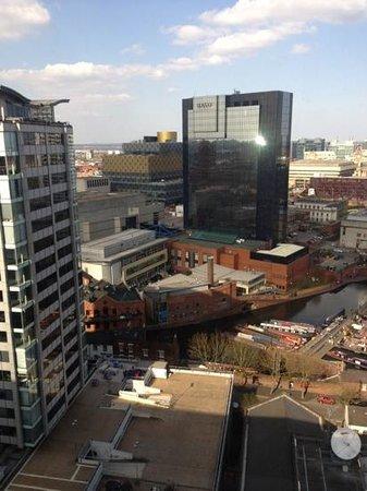 Jurys Inn Birmingham: View from 16th floor