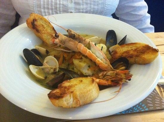 The Blue Marlin: fish stew