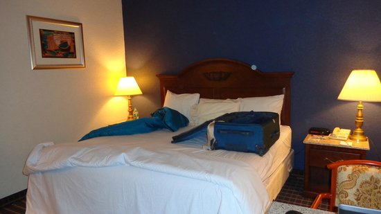 Howard Johnson Inn Bangor : King size bed was great!