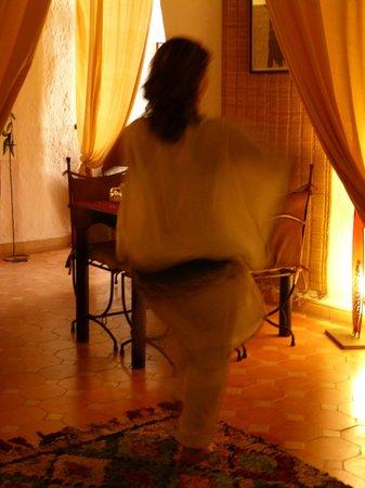 La Cle de Voute: danzatrice a sorpresa
