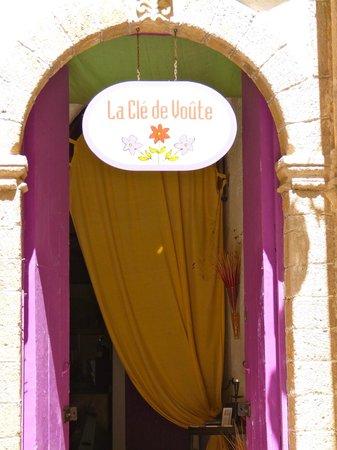 La Cle de Voute: l'ingresso del ristorante