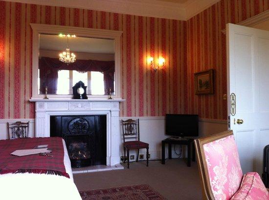 Glenapp Castle : Chambre