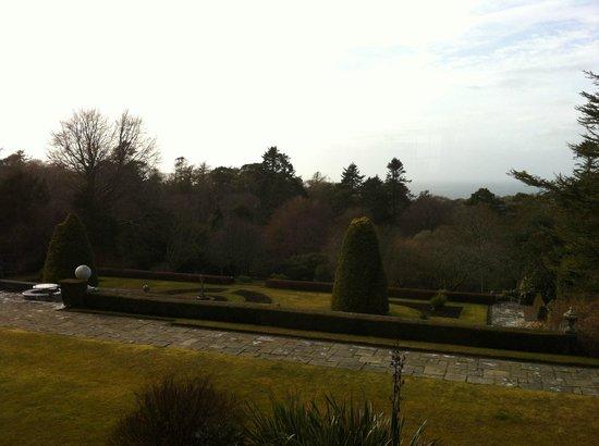 Glenapp Castle : Vue depuis la chambre