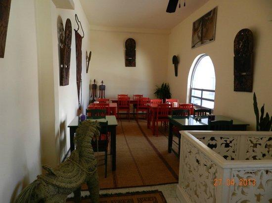 Chez Mermoz : Salle à l'étage