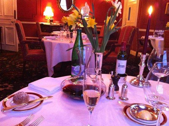 Glenapp Castle : Merveilleuse cuisine