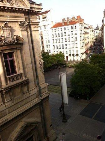 Hotel des Artistes: vue de la chambre 409