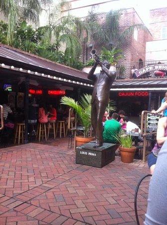 New Orleans Musical Legends Park: prima