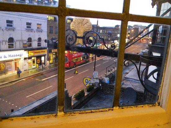St Christopher's Inn Camden : An evening view on Camden High Street.