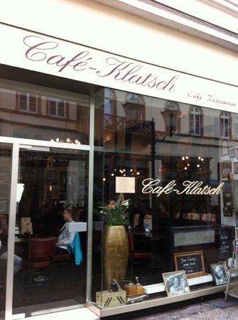 Café Klatsch: außenansicht