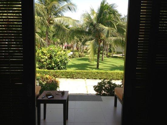 Blue Ocean Resort: сад