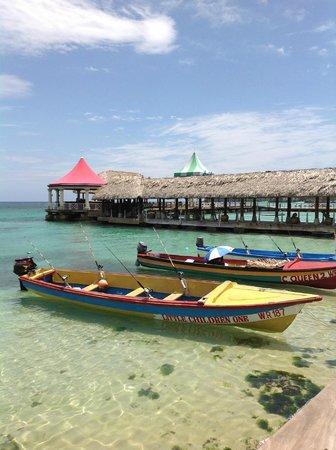 Sandals Ochi Beach Resort: Fishermen for hire