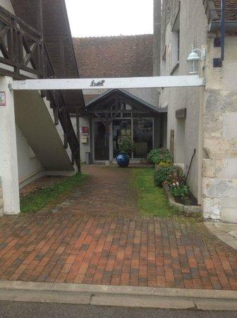 Hotel Le Bon Laboureur : entrée reception