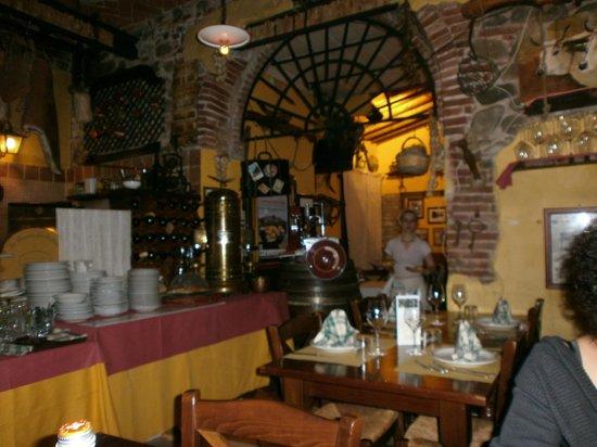 Buggiano, Italy: Un interno da passato remoto