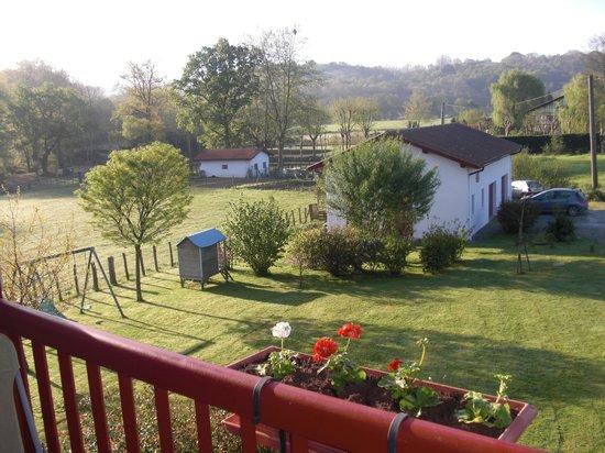 Maison Kuluxka : vue depuis la terrasse