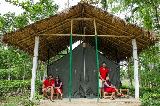 Nature Hunt Eco Camp, Kaziranga National Park: Tent @ Nature Hunt Eco-Camp