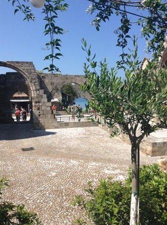 Hatzikelis Sea Food Restaurant : the view
