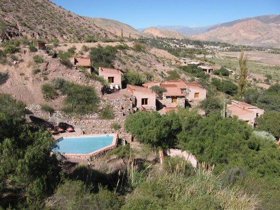 Cerro Chico: Vista desde el mirador del Hotel