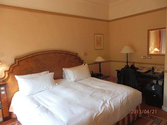 Sofitel Rome Villa Borghese: Unser Zimmer mit Doppelbett