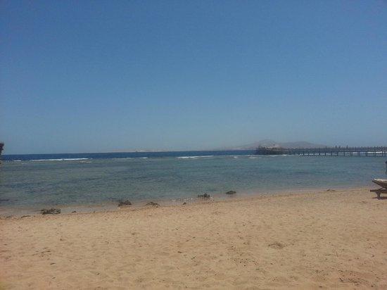 Cleopatra Luxury Resort Sharm El Sheikh: View from beach